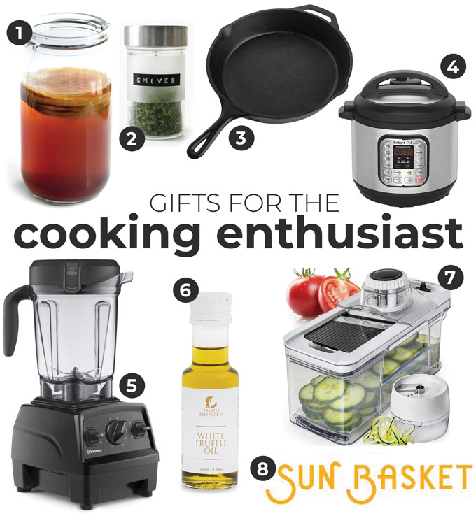 Gift ideas for people who love cooking food
