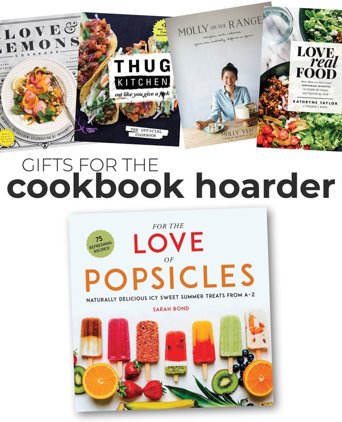 Gift ideas for cookbook hoarders