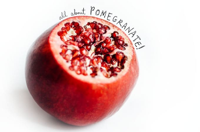 Everything you need to know about pomegranate. How to choose the perfect pomegranate, how seed it, how to store it, and more. Pom appetit!