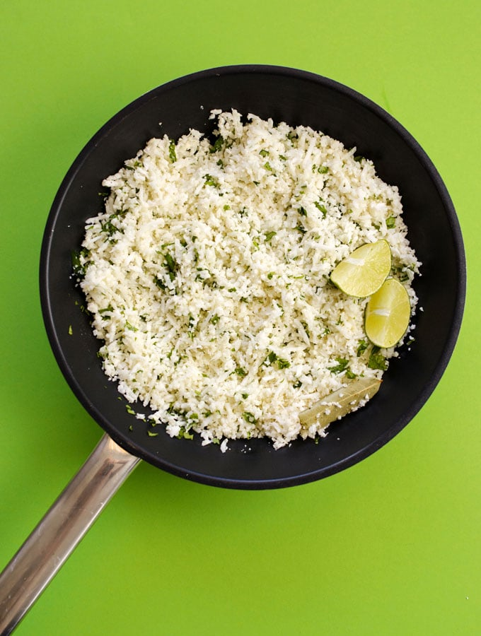 10. Chipotle Copycat Cauliflower Rice