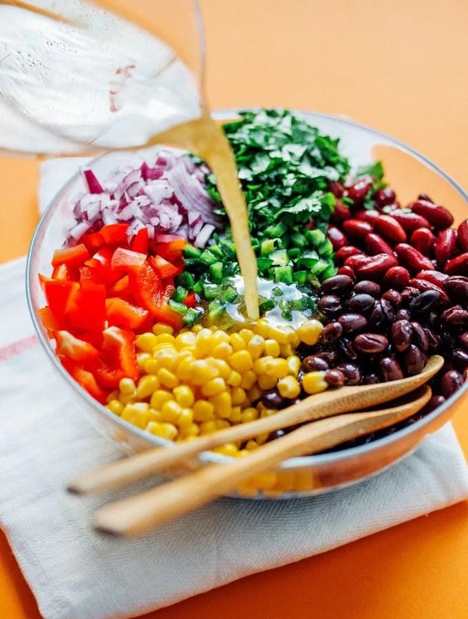 11. Mama's Famous Bean Salad