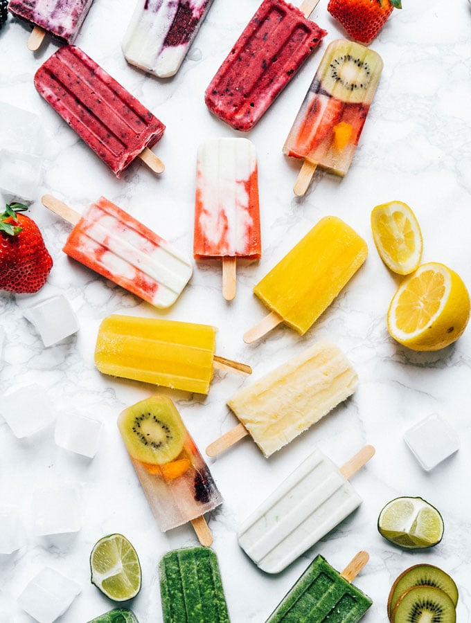 The Ultimate Guide to  Homemade Popsicles