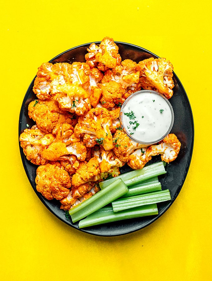 13. Air Fryer Buffalo Cauliflower