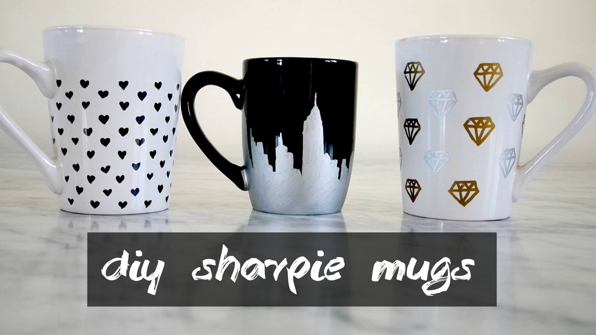 20 Cool Diy Sharpie Mug Ideas To Enhance Your Mug S Beauty Live Enhanced