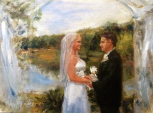 best painting size.Wedding Portraits