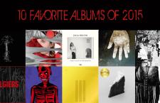10 Favorite Albums 2015