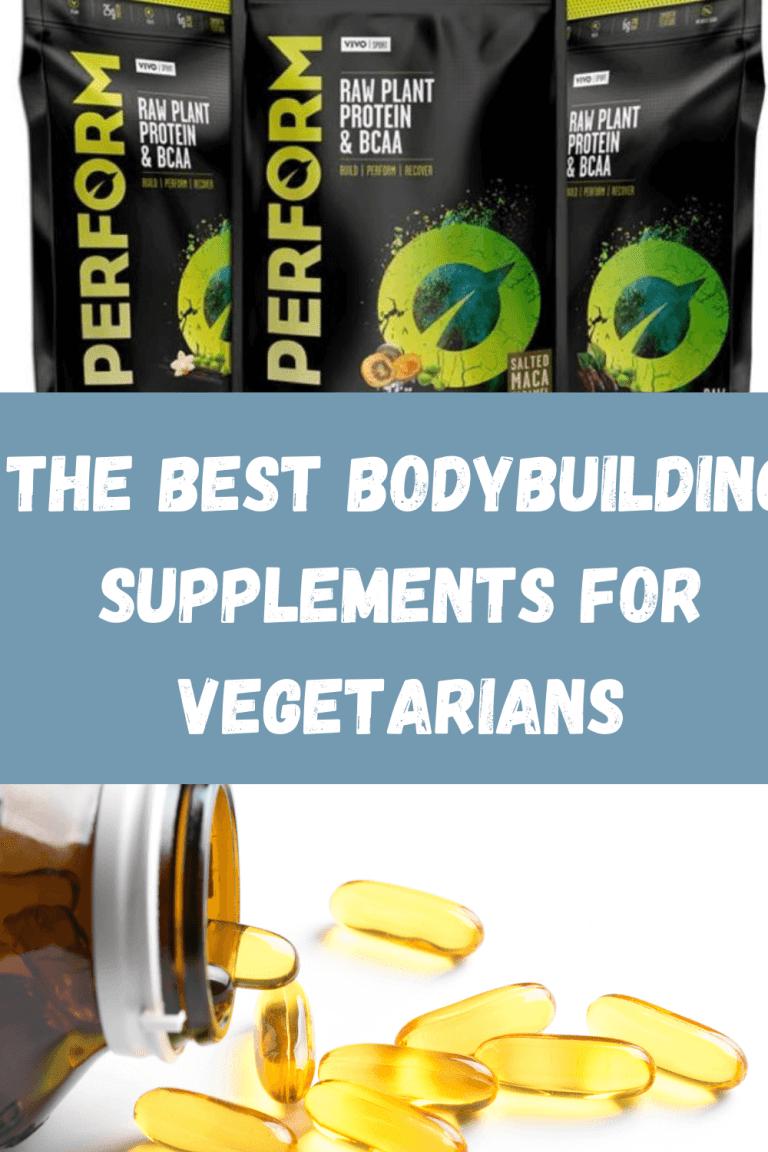 bodybuilding supplements for vegetarians