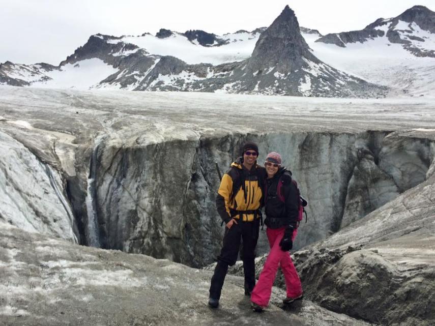 Snowbird Glacier Nunatak