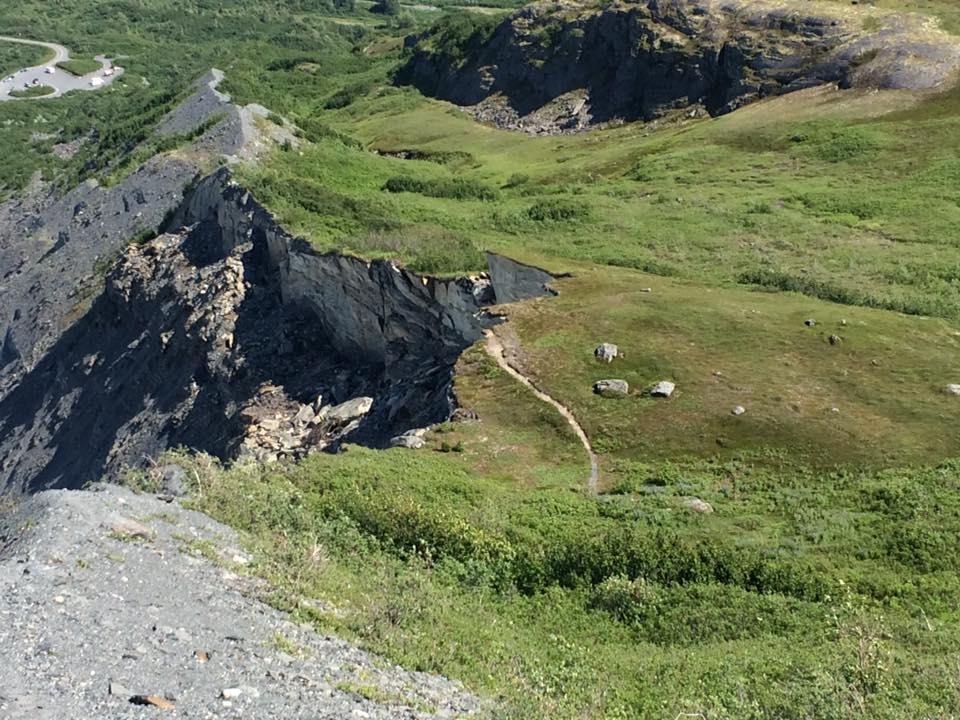Landslide at Catcher's Mit, Thompson Pass, AK