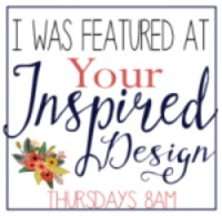 Your Inspired Design Blog party feature