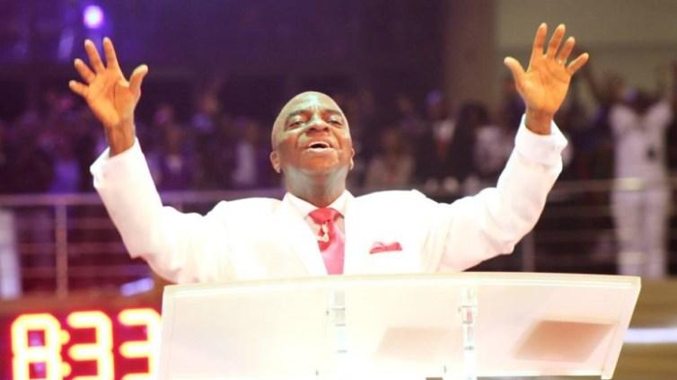 shiloh Bishop Oyedepo declaring shiloh 2018