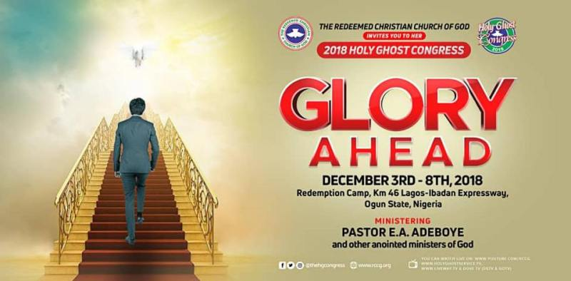 RCCG Holy Ghost Congress 2018 Live Streaming