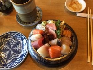 Sushi Taro - Premium Chirashi bowl