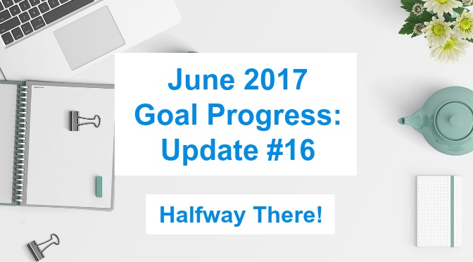 June 2017 Goal Progress: Update #16