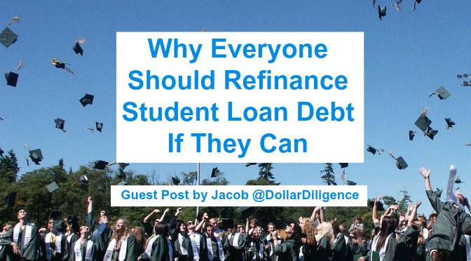 Why Everyone Should Refinance Student Loan Debt If They Can