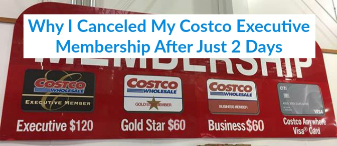 LiveFrugaLee Cancel Costco Executive