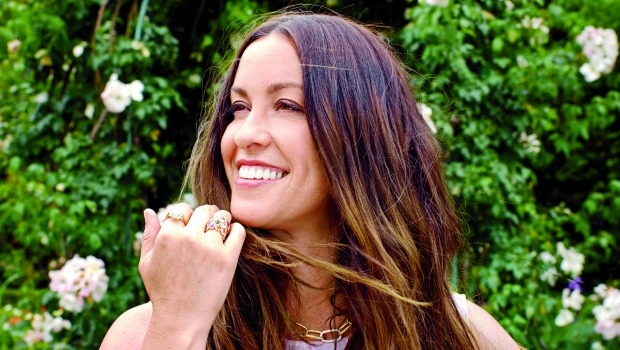 Alanis Morissette Enjoys the Moment