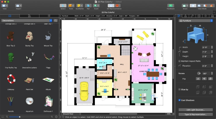 How To Draw A Floor Plan – Live Home 3D | Live Home 3D Stairs | Chief Architect | Building | Floor Plan | Stair Treads | 3D Pro