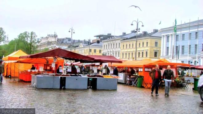 Helsinki Attractions and Top Things to Do in Helsinki Finland: Market Square Helsinki Kauppatori