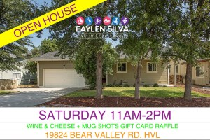 Open House at 19824 Bear Valley Rd. Hidden Valley Lake, CA