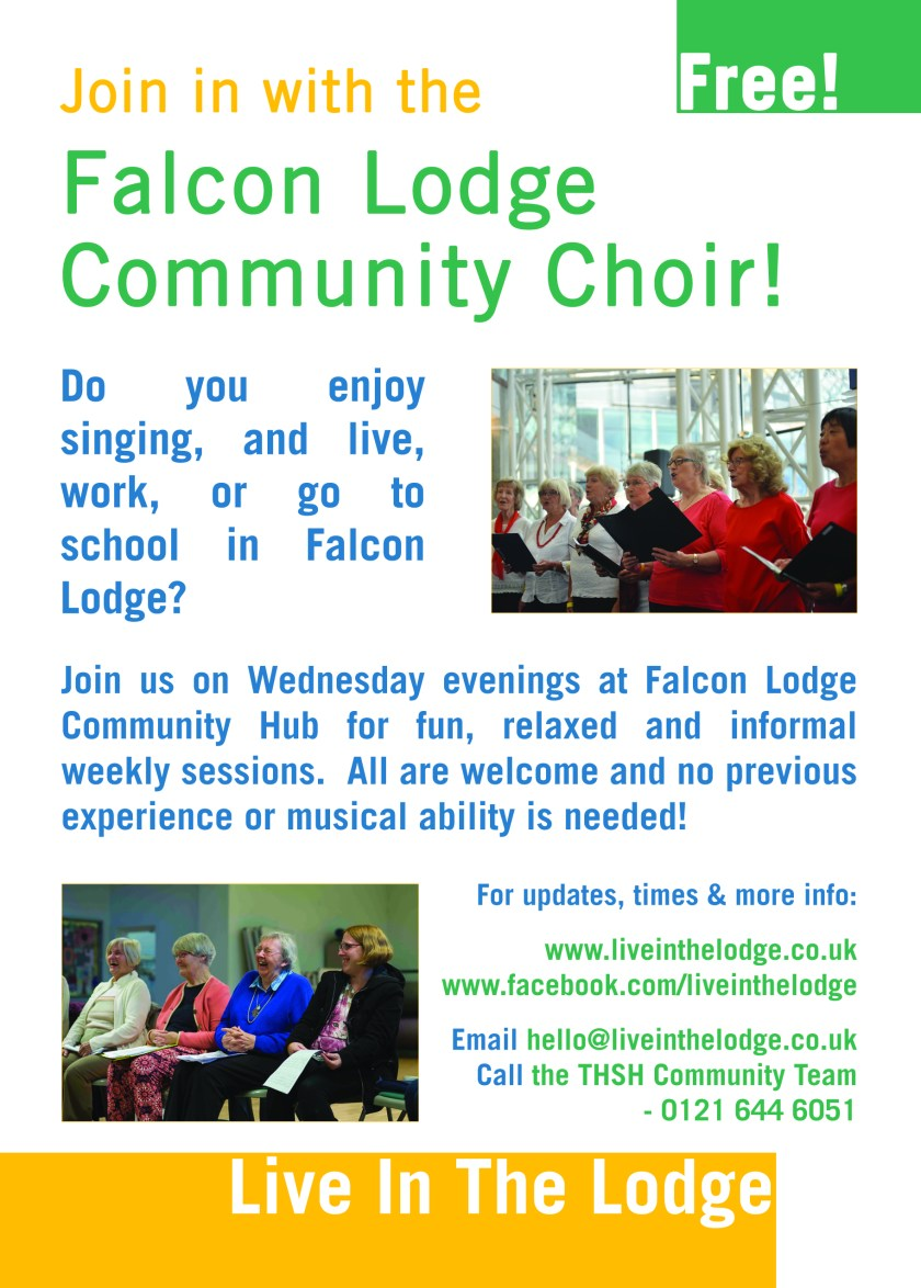 Free Falcon Lodge Community Choir Sutton Coldfield Birmingham