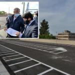 Ponte della Libertà, inaugurato il nuovo parcheggio per le moto