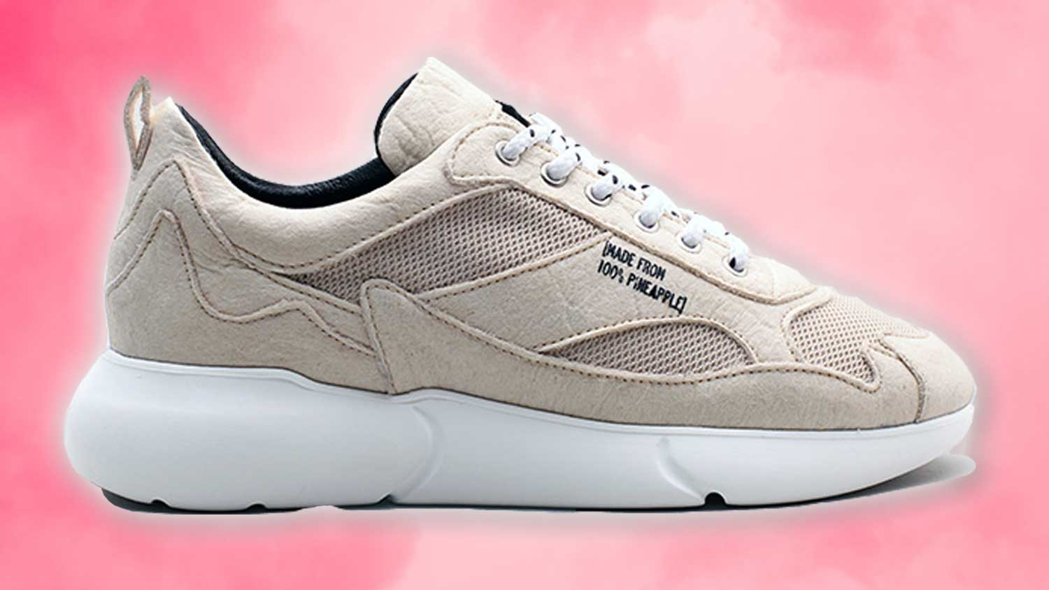 These Vegan Leather Sneakers are Made From Pineapples   LIVEKINDLY