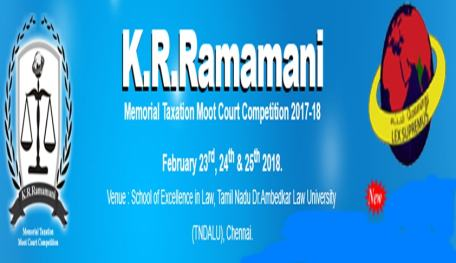 Image result for 8th K. R. Ramamani Research Paper Competition @ TN Dr. Ambedkar Law University, chennai