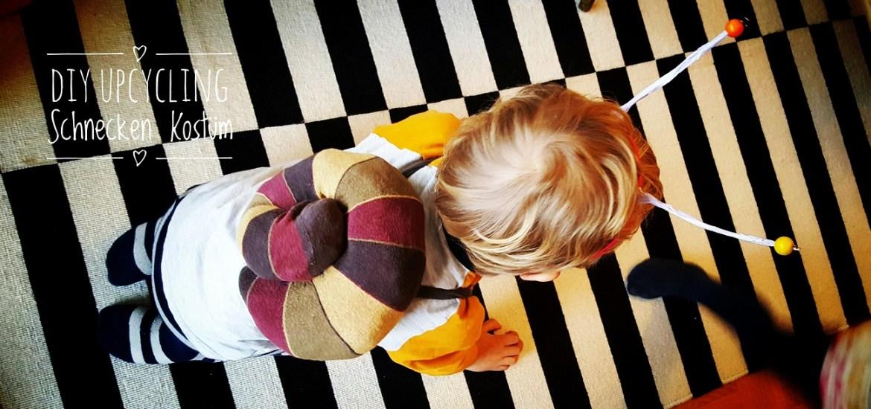 Schnecken-Kostüm aus alten Socken