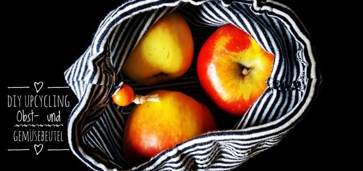 Anleitung für Upcycling Obst- und Gemüsebeutel aus alten Babybodys