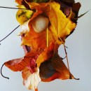 Windspiel aus Naturmaterialien Abstandshalter Muscheln