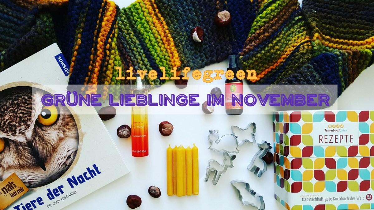 livelifegreen - Grüne Lieblinge im November 2017