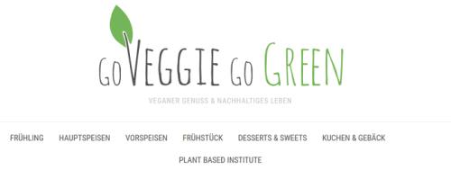 Nachhaltigkeit Blog: GoVeggie go Green