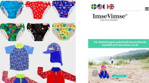 Nachhaltige Bademode für Kinder: ImseVimse