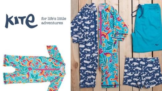 Nachhaltige Badeanzüge und Badehosen für Kinder: Kite Clothing
