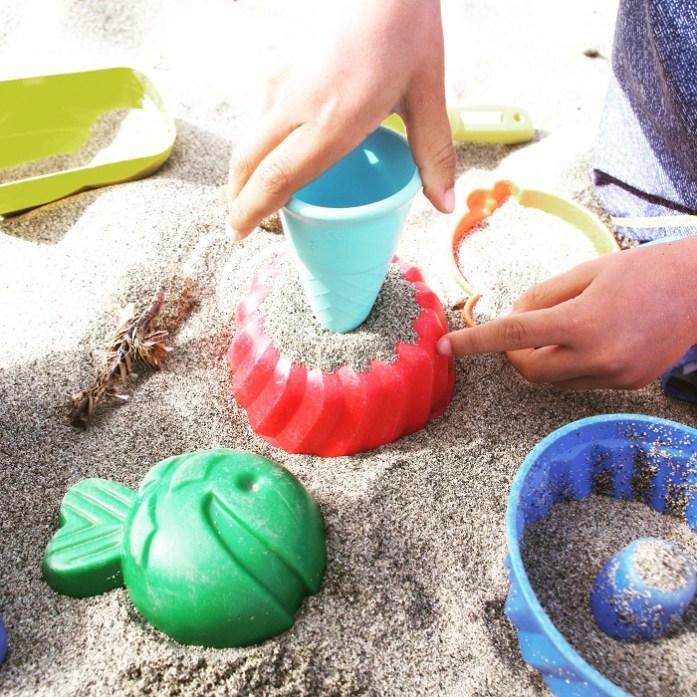 Nachhaltiger Sommerspaß: Sandspielzeug