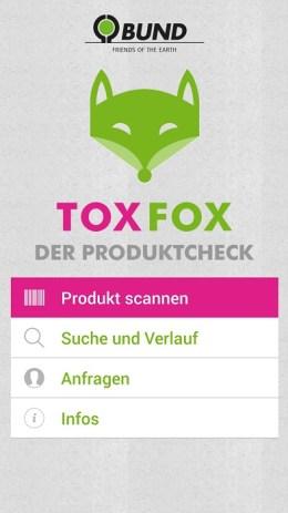 Grüne Apps für mehr Nachhaltigkeit-ToxFox