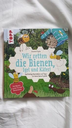 Grüne Buchtipps für Weihnachten: Wir retten die Bienen, Igel und Käfer!
