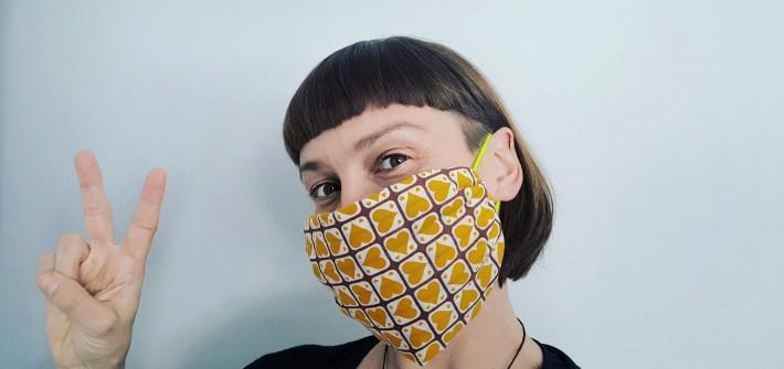 DIY-Mundschutz ohne Nähen - Atemschutzmaske falten