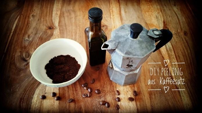 Zero Waste Peeling aus Kaffeesatz