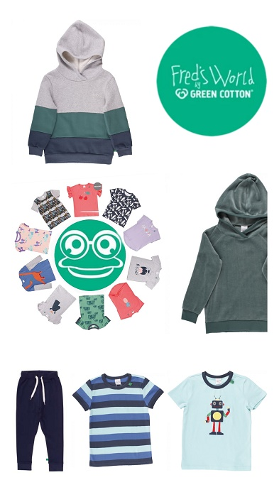 Fred's World by Green Cotton - nachhaltige Kindermode für Jungen