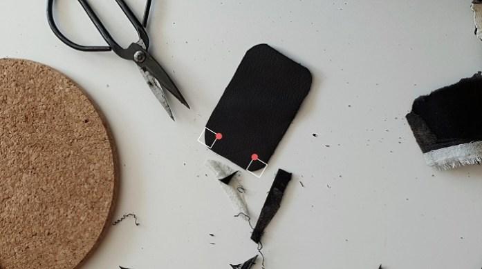 Rasierhobel Leder-Schutzhülle selber machen