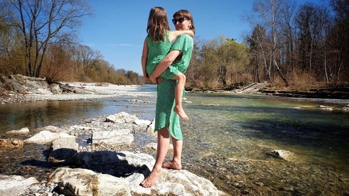 nachhaltige Mutter Kind Outfit: Fair Fashion von CORA Happywear
