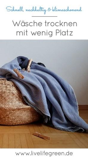 So geht Wäschetrocknen mit wenig Platz, nachhaltig und klimaschonend