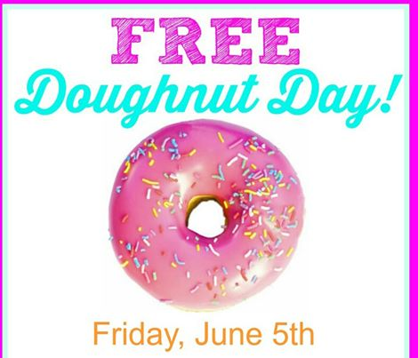 Free Donuts on Donut Day