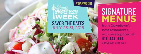 atl downtown restaurant week