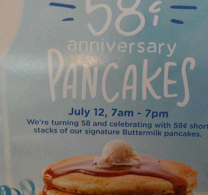 Cent Pancakes From Ihop