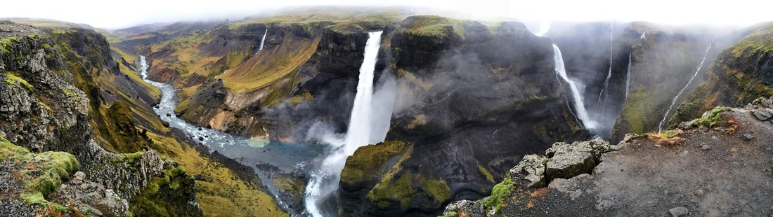Háifoss waterfall in South Iceland   Life With a View