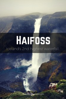 Haifoss - Second highest waterfall in Iceland | Life With a View