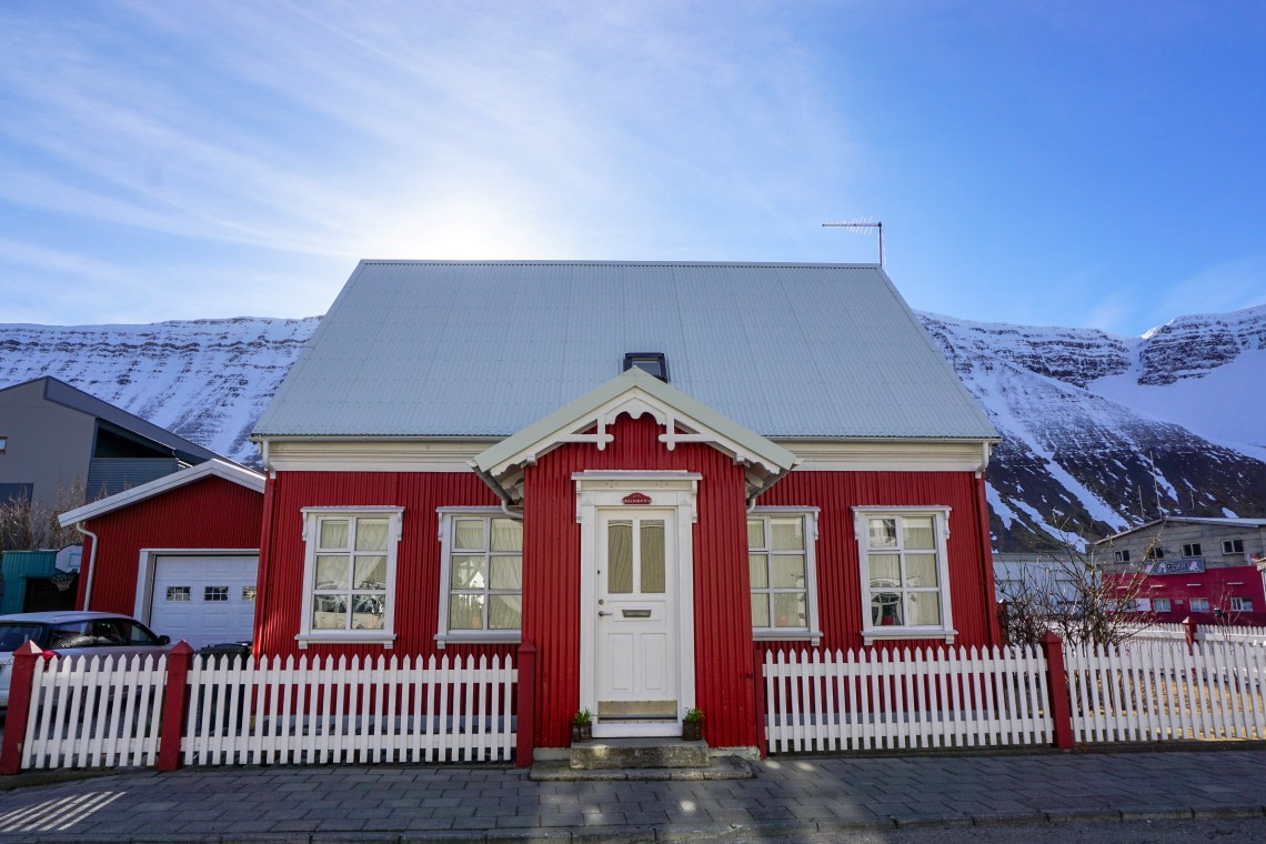 The picturesque town of Isafjordur in the Westfjords of Iceland - click for video!   Life With a View